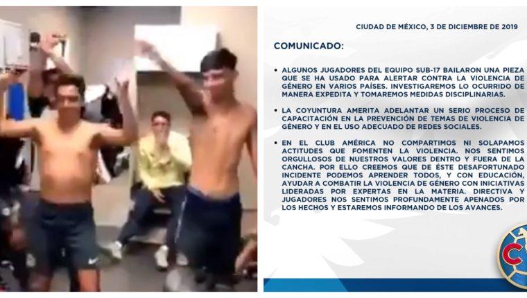El América se pronunció por la polémica en redes sociales sobre los jugadores Sub 17. (Foto Prensa Libre: Twitter)