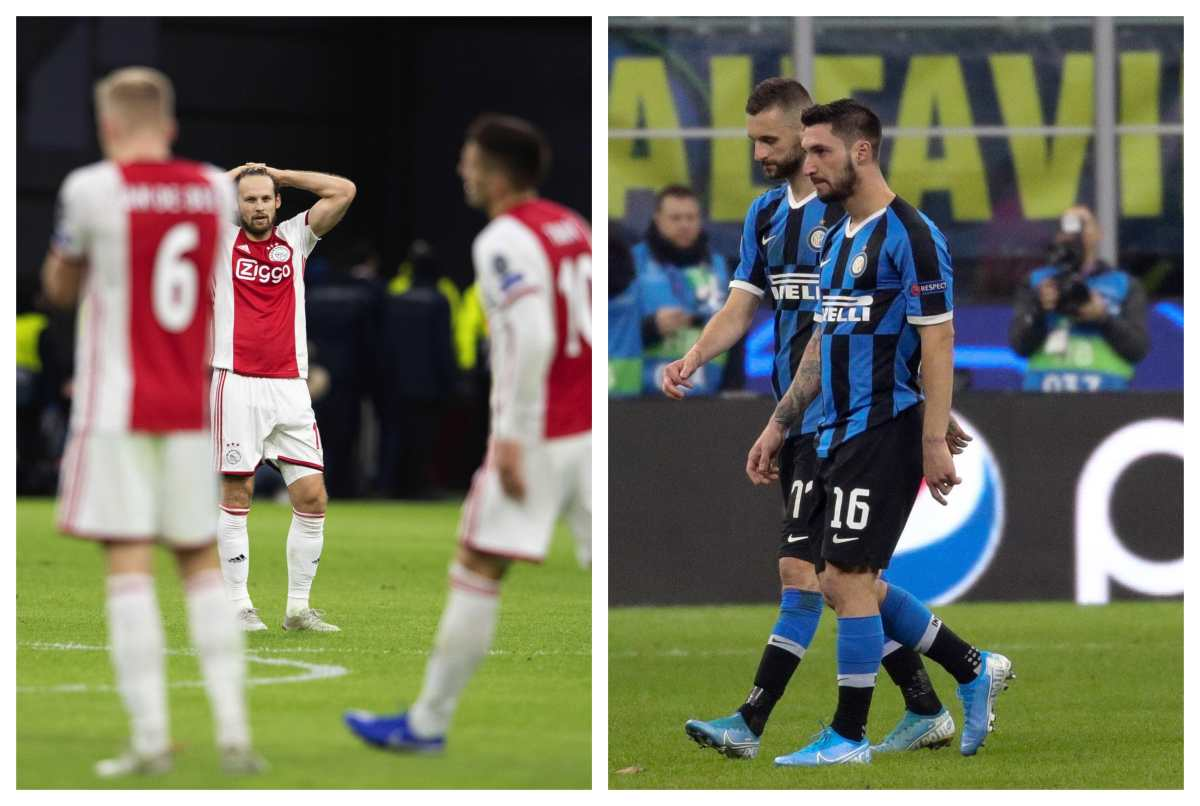 Ajax e Inter de Milán se despiden de la Champions League
