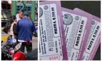 Los internautas publicaron fotografías de supuestos revendedores, en redes sociales. (Foto Prensa Libre: Twitter)
