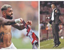 Flamengo y River protagonizaron la final de la Copa Libertadores. (Foto Prensa Libre: Hemeroteca PL)