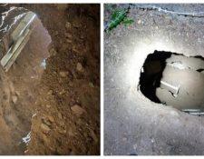 Túnel descubierto en frontera. (Foto: Aduanas y Protección Fronteriza de EE. UU)