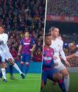 Las dos faltas que el Real Madrid señala del Barcelona. (Foto Prensa Libre: Imagen tomada de Bolavip.com).