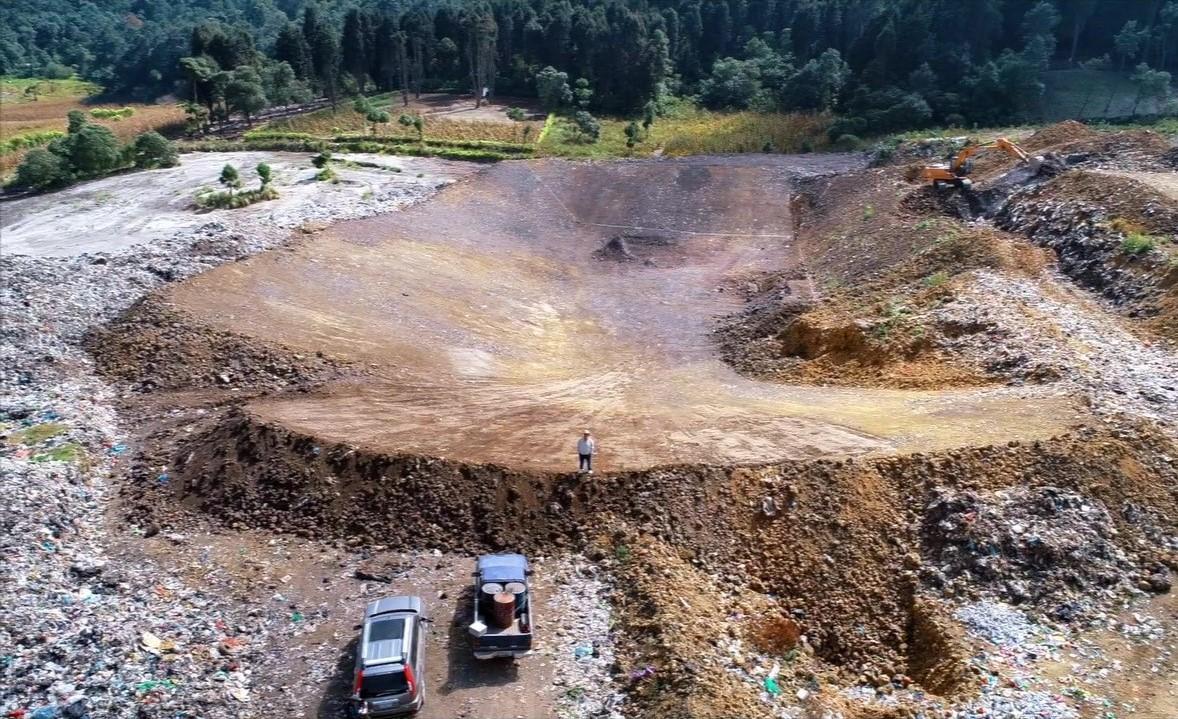 Presentan trabajos que proyectan el funcionamiento del vertedero municipal de Quetzaltenango  por 25 años más