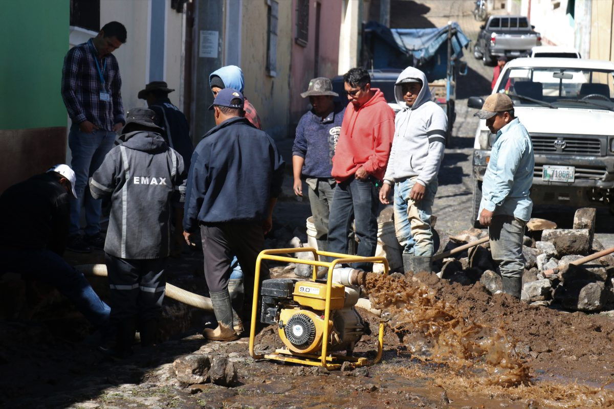 Segundo colapso de tubería evidencia la antigüedad de los conductos en el Centro Histórico