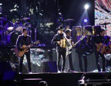 El grupo de regional mexicano se presentó por última vez en el 2012 en Quetzaltenango. (Foto Prensa Libre: Raúl Juárez)