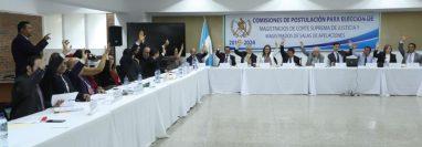 La Corte de Constitucionalidad dictó plazos para la elaboración de nóminas de candidatos a magistrados. (Foto Prensa Libre: Hemeroteca PL)