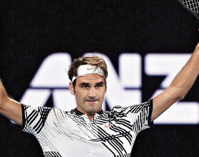 Roger Federer hace historia en su país. (Foto Prensa Libre: Hemeroteca PL)