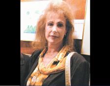 Lucy Aldaz fue una prolífica poetisa guatemalteca, fallecida el domingo 2. (Foto, Hemeroteca PL)