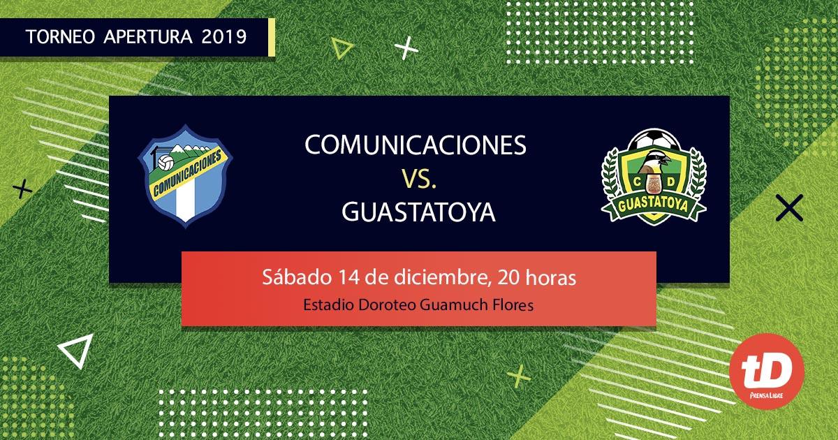 EN DIRECTO | Comunicaciones VS Guastatoya