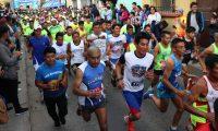 Unos 3 mil corredores se congregarán en Salcajá para despedir el 2019 con actividad deportiva. (Foto Prensa Libre: Raúl Juárez)