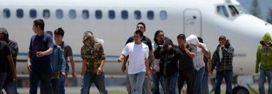 Miles de migrantes son deportados a Guatemala durante redadas en EE.UU. (Foto Prensa Libre: Hemeroteca PL)