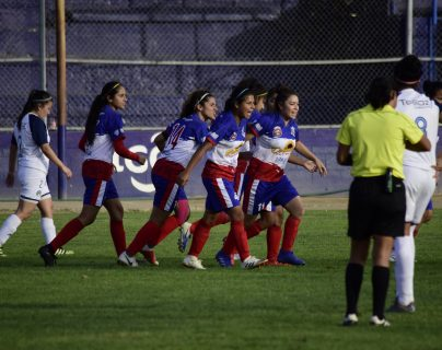 Deportivo Xela podría acceder a una nueva final de la Liga Nacional de Fútbol Femenino. (Foto Prensa Libre: Hemeroteca)