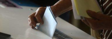 La primera vuelta de las elecciones generales 2019 se efectuó el 15 de junio pasado. (Foto Prensa Libre: Hemeroteca PL).