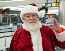 """La Patrulla Fronteriza """"registró"""" a Santa Claus para que ingresara legalmente a Estados Unidos."""