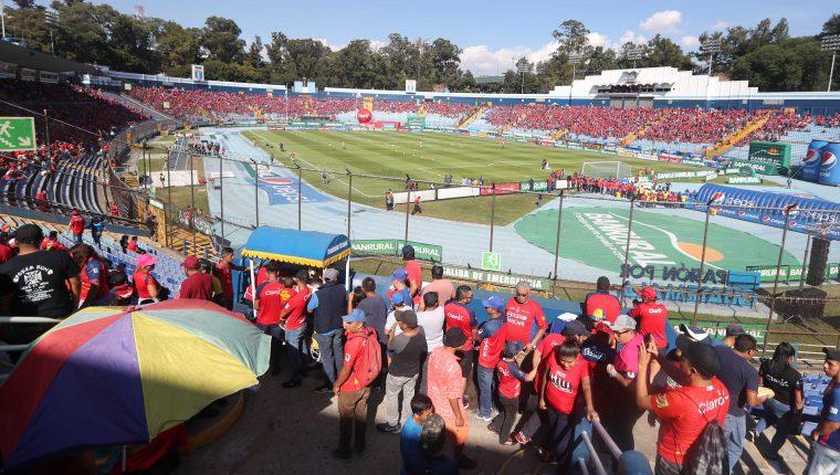 El equipo escarlata fue el más taquillero en el 2019. (Foto Prensa Libre: Carlos Vicente)