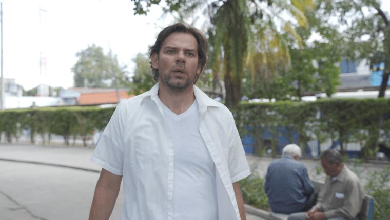 Durante el rodaje de Arenas del tiempo, de Luigi Lanuza.  (Foto Prensa Libre: Cinematográfica Tikal).