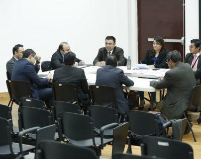 Este miércoles, 11 de diciembre de 2019, comenzaron las evaluaciones a jueces y magistrados de parte del Consejo de la Carrera Judicial. (Foto Prensa Libre: Esbin García)