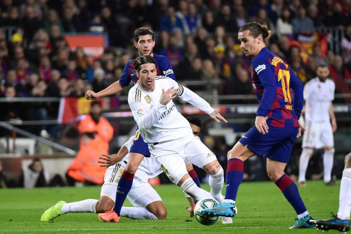 """Sergio Ramos: """"Se ve claro que son dos penaltis"""""""