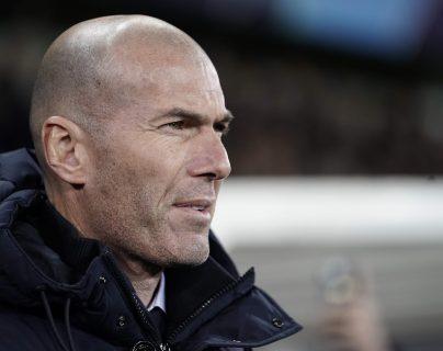 El técnico del Real Madrid, Zinedine Zidane. (Foto Prensa Libre: AFP)