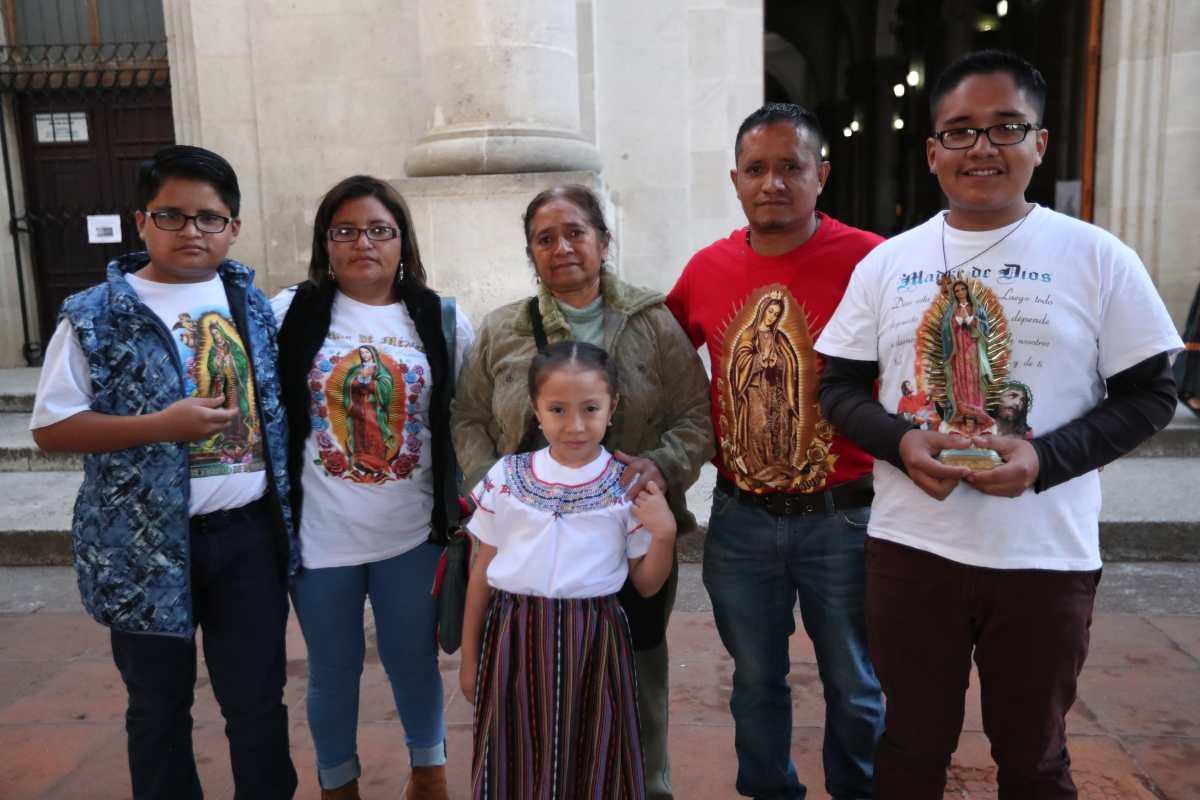 Fe, devoción y agradecimiento de los quetzaltecos a la Virgen de Guadalupe
