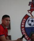 Carlos Gallardo será el hombre clave en la defensa de Municipal. (Foto Prensa Libre: Carlos Vicente)