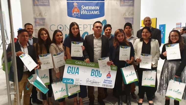 Los diez finalistas que lucharán por la gloria en  Cocepts in Color 2019. Foto Prensa Libre: Cortesía