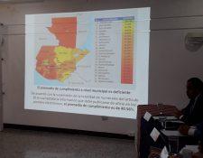 Este es el ranking municipal de cumplimiento de información pública de oficio. (Foto Prensa Libre: Byron García)