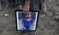 Jakelin Caal fue sepultada en San Antonio Secortez, Alta Verapaz. (Foto Prensa Libre: Hemeroteca PL)