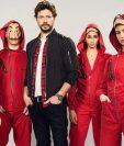 La cuarta temporada de La Casa de Papel estará disponible el 3 de abril. (Foto Prensa Libre)