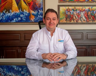 Mario Alberto Naranjo Echeverri, es el nuevo gerente de la EEGSA y empresas afiliadas. (Foto, Prensa Libre: EEGSA).