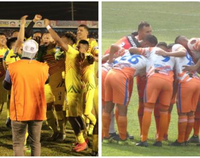El Deportivo Marquense y Achuapa jugarán la gran final. (Foto Prensa Libre: Héctor Cordero)