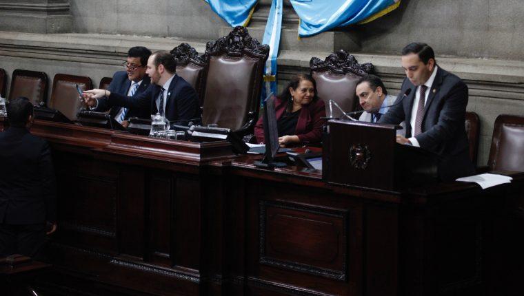 La nueva junta directiva se elegirá el 14 de enero próximo en sesión ordinaria, está será la novena legislatura. (Foto Prensa Libre. Hemeroteca PL)