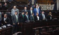 Este fue el ambiente en una de las ultimas sesiones de los diputados en el Congreso de la Republica.   Noe Medina   11122019