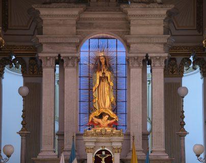 En la festividad de la Virgen de Guadalupe, recordamos la historia de las apariciones de la Santísima Virgen al indio Juan Diego en el cerro Tepeyac en el siglo XVI. Fotografía. Prensa Libre: Erick Avila