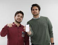 Charlie Galdámez y Diego Carranza son dos integrantes del equipo directivo de Kitsord, y confían en poder ayudar  a más personas de todo el mundo. (Foto, Prensa Libre: Keneth Cruz).