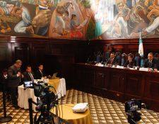 La Comisión de la Verdad creada por el Congreso nació para indagar sobre las actuaciones de la Cicig. (Foto Prensa Libre: HemerotecaPL)