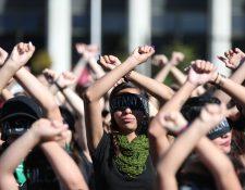 En los últimos días grupos de mujeres se han manifestado en varias ciudades por la violencia contra este sector de la población. (Foto Prensa Libre: Hemeroteca PL).