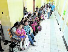 Parte del préstamo del BID es para mejorar red del sistema de salud, cuya cobertura es ineficiente. (Foto Prensa Libre: Hemeroteca PL)