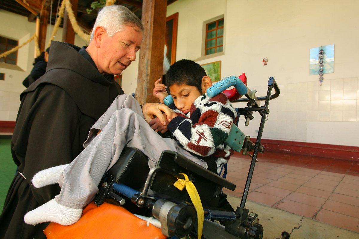 Muere fray José, quien fue director durante 21 años de las Obras Sociales del Hermano Pedro
