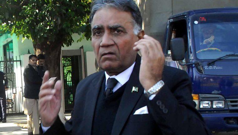 """El expresidente de Pakistán Pervez Musharraf, condenado a muerte por """"alta traición. (Foto Prensa Libre: EFE)"""