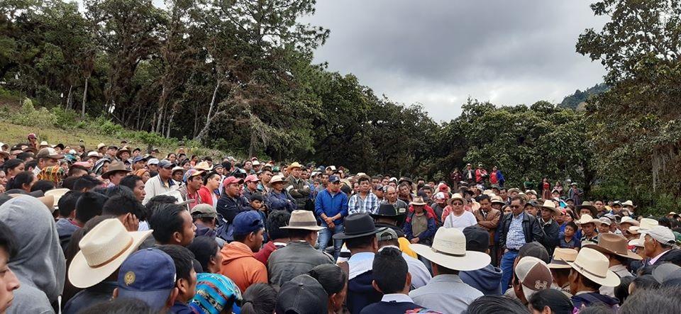 Inconformidad, de nuevo, en San Bartolomé Jocotenango, Quiché, por falta de agua entubada