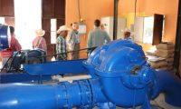 La oenegé Ingenieros sin Fronteras invirtieron Q500 mil para reparar la turbina de la hidroeléctrica El Salitre en Joyabaj, Quiché. (Foto Prensa Libre: Héctor Cordero)