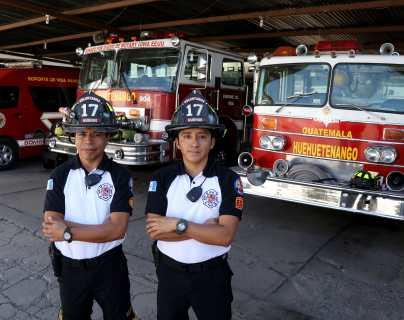 Así se vive la Navidad en una estación de bomberos en Huehuetenango