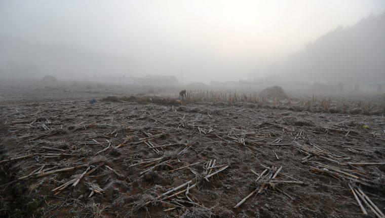 En regiones del altiplano se prevé se registren heladas provocadas por una masa polar. (Foto Prensa Libre: Mynor Toc)