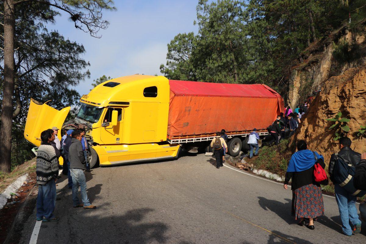 Llega el 2020, y en Quiché no hay plan para regular el transporte pesado