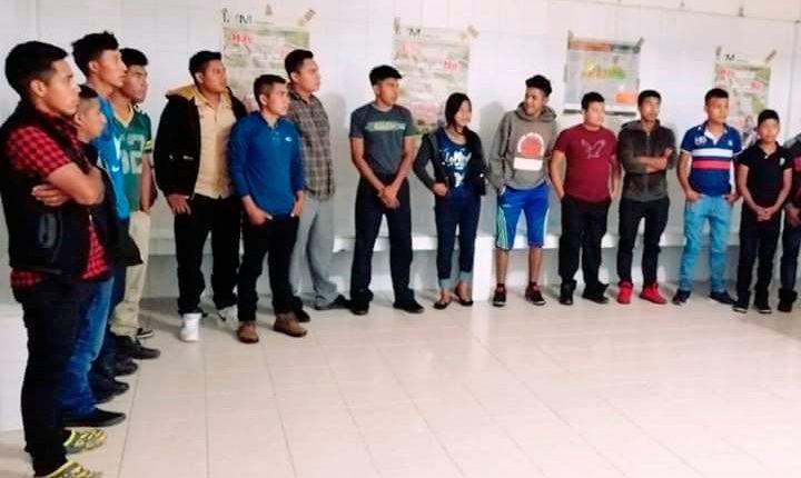 Guatemaltecos sin documentos son detenidos en ciudades fronterizas entre México y Guatemala. (Foto Prensa Libre: Mike Castillo)