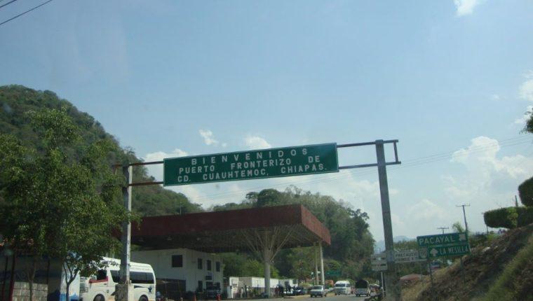 Instituto Nacional de Migración de México suspendió la extensión de la Tarjeta de Visitante Regional en Ciudad Cuauhtémoc. (Foto Prensa Libre: Cortesía)