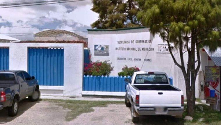 Sede del Instituto Nacional de Migración en Comitán de Domínguez. (Foto Prensa Libre: Cortesía)
