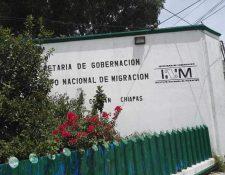Sede del Instituto Nacional de Migración en Comitán de Domínguez, Chiapas, México. (Foto Prensa LIbre: Cortesía)