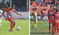 Ramiro Rocca (izquierda) será el sustituto de Arce en la ofensiva roja. (Foto Prensa Libre: Hemeroteca PL)